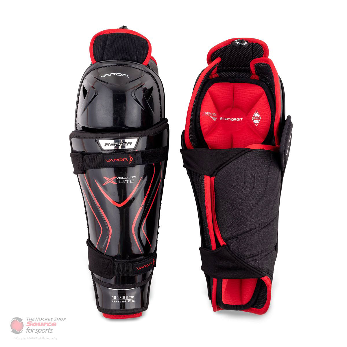Bauer Vapor X Velocity Lite Senior Shin Guards