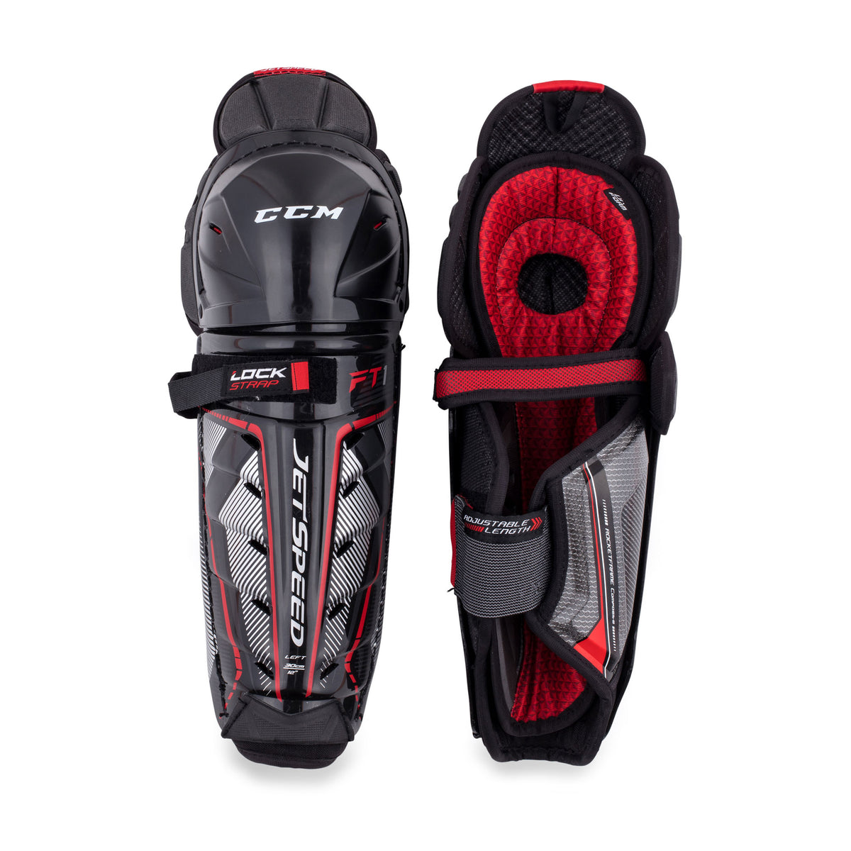 CCM Jetspeed FT1 Junior Hockey Shin Guards