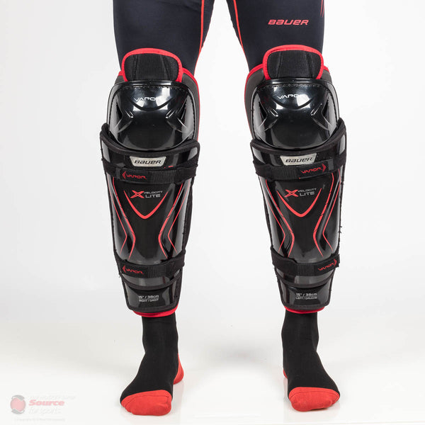 Bauer Vapor X Velocity Lite Senior Hockey Shin Guards