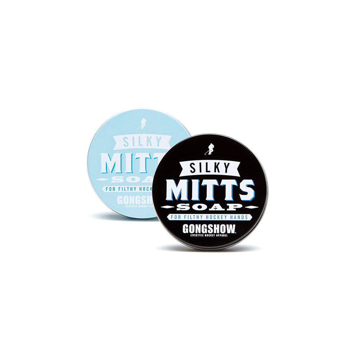 Gongshow Hockey Silky Mitts Black Soap