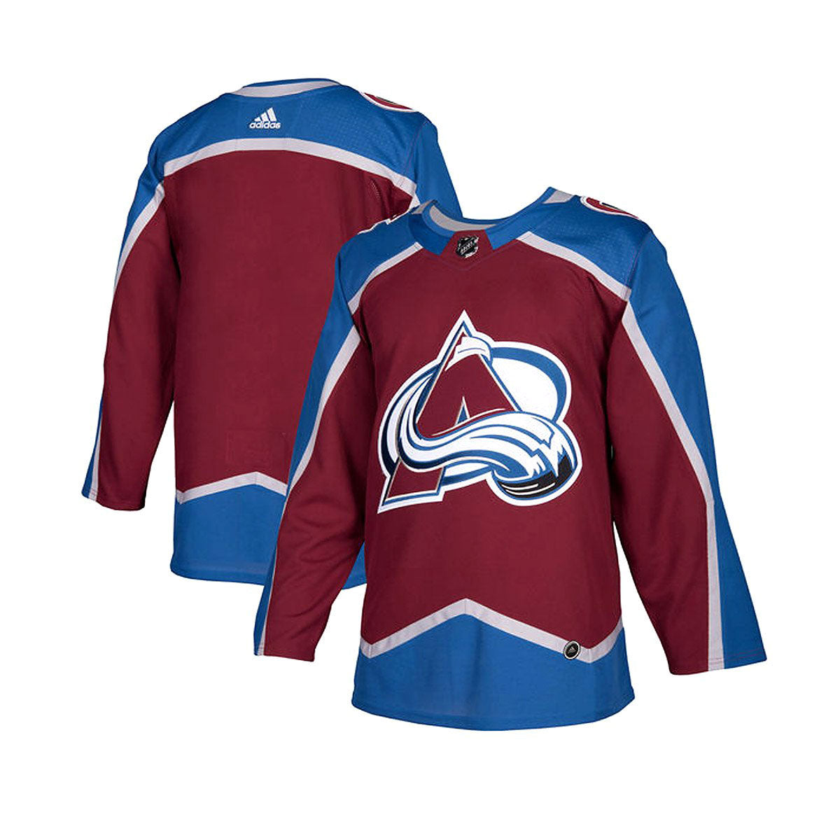 Colorado Avalanche Adidas Authentic Senior Home Jersey