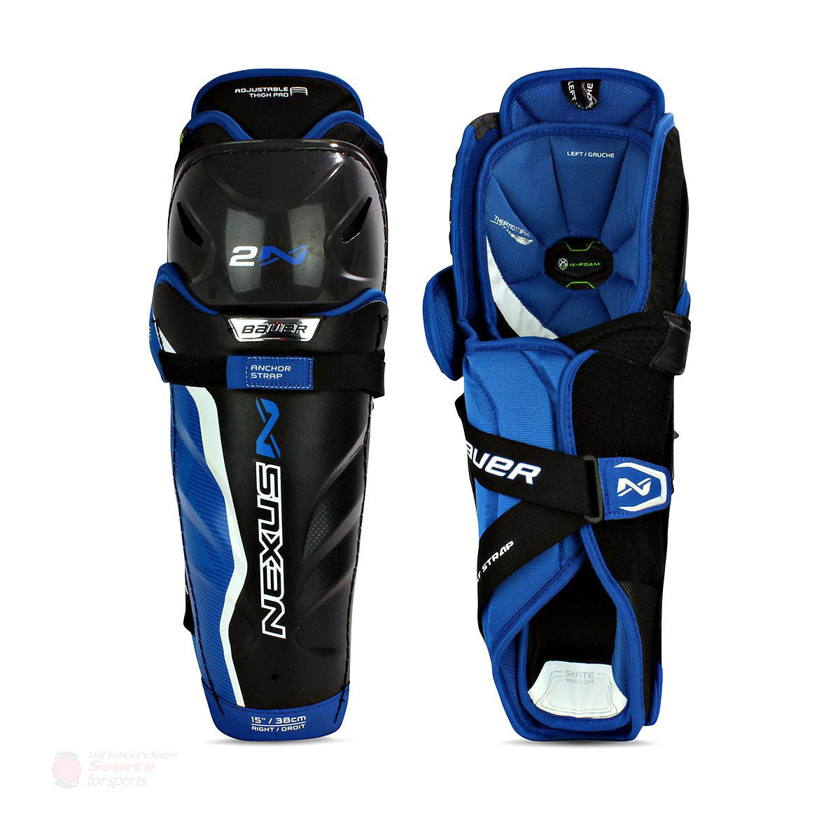 Bauer Nexus 2N Senior Hockey Shin Guards