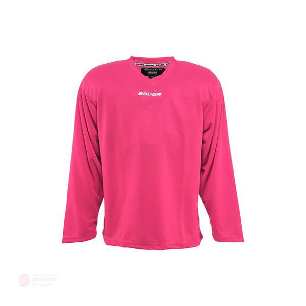 Bauer Core Junior Goalie Practice Jersey - Pink