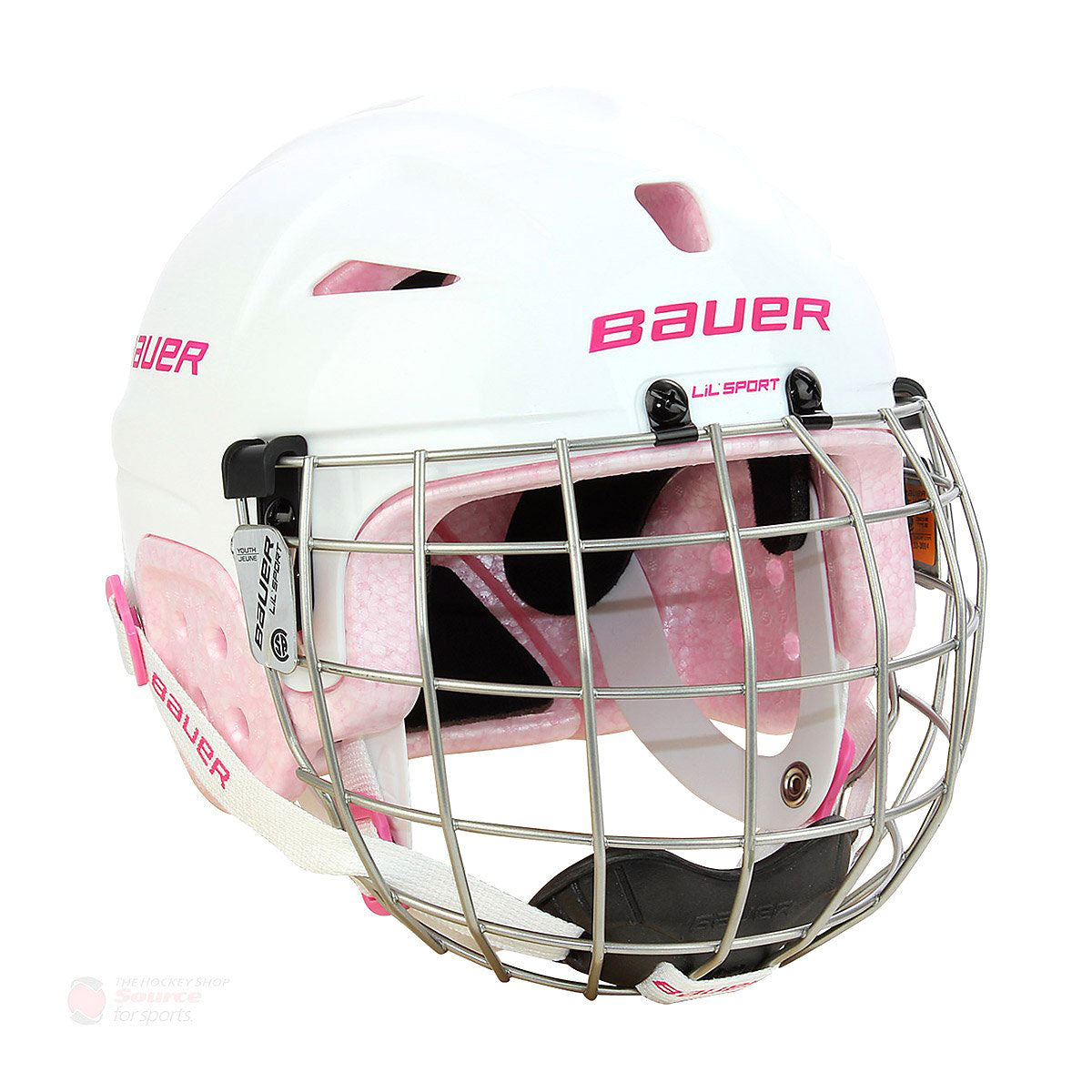 Bauer Lil Sport Hockey Helmet / Cage Combo