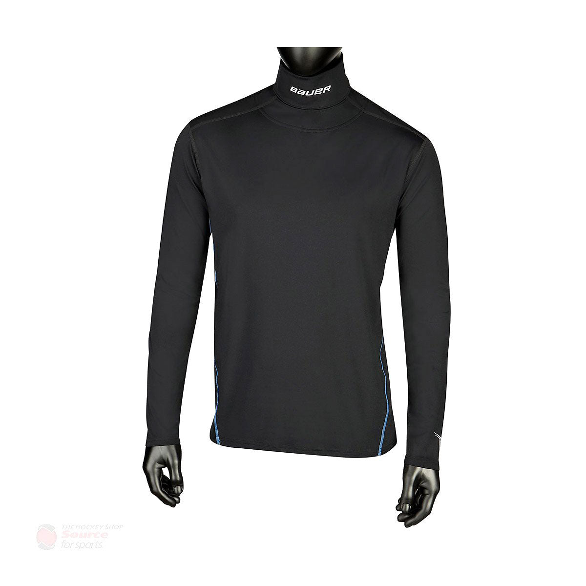 Bauer NG Core L/S Senior Neck Guard Shirt