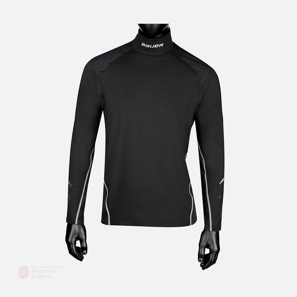 Bauer NG Premium L/S Junior Neck Guard Shirt
