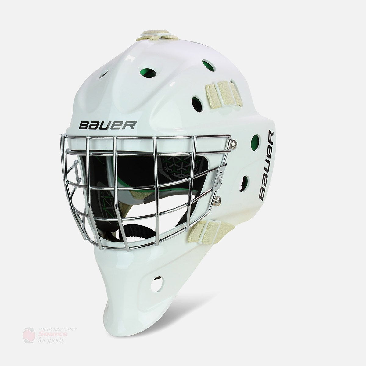 Bauer NME 4 Senior Goalie Mask - White