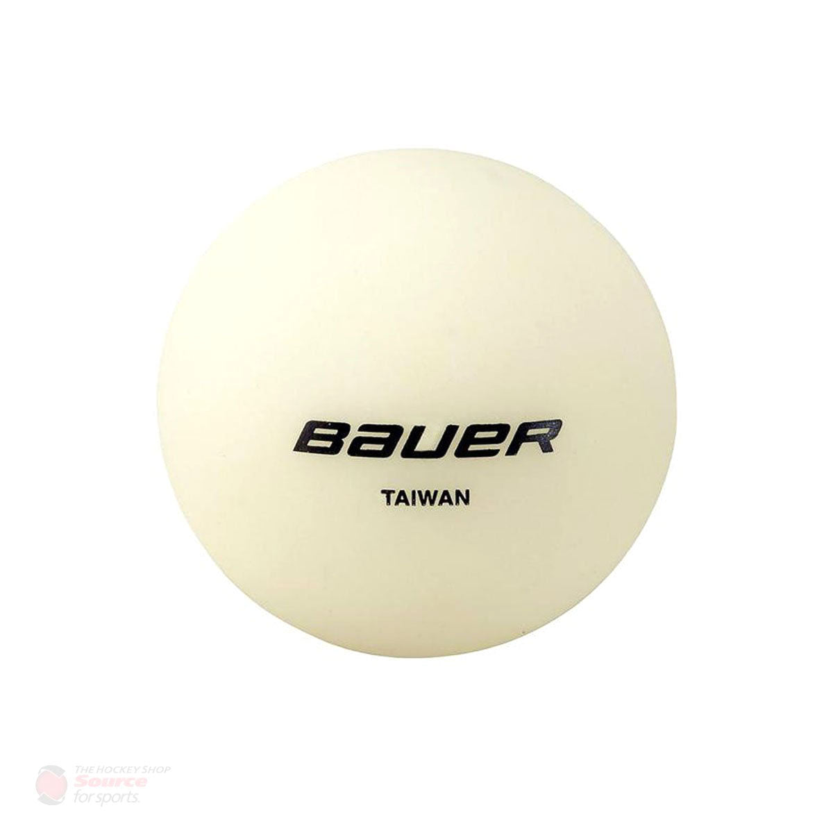 Bauer No Bounce Hockey Ball - Glow in the Dark