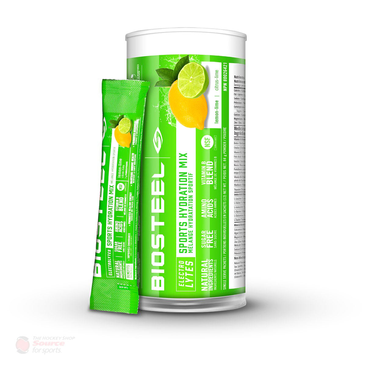 BioSteel High Performance Sports Mix - Lemon Lime (12 Packets)