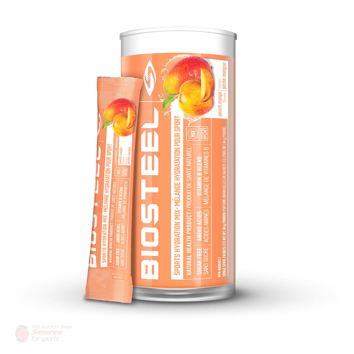 BioSteel High Performance Sports Mix - Peach Mango (12 Packets)