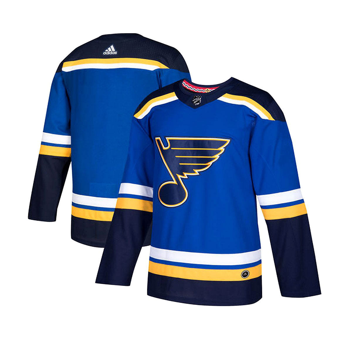 St. Louis Blues Home Adidas Authentic Senior Jersey