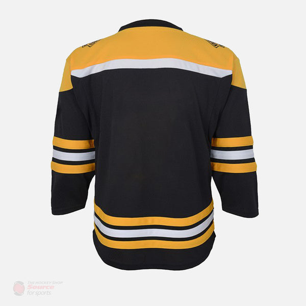 Boston Bruins Home Outer Stuff Replica Toddler Jersey