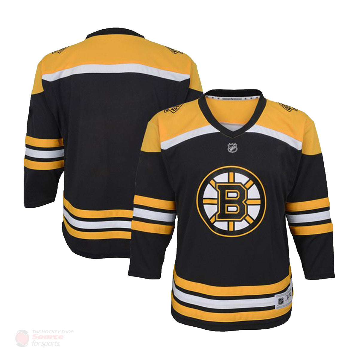 Boston Bruins Home Outer Stuff Replica Infant Jersey