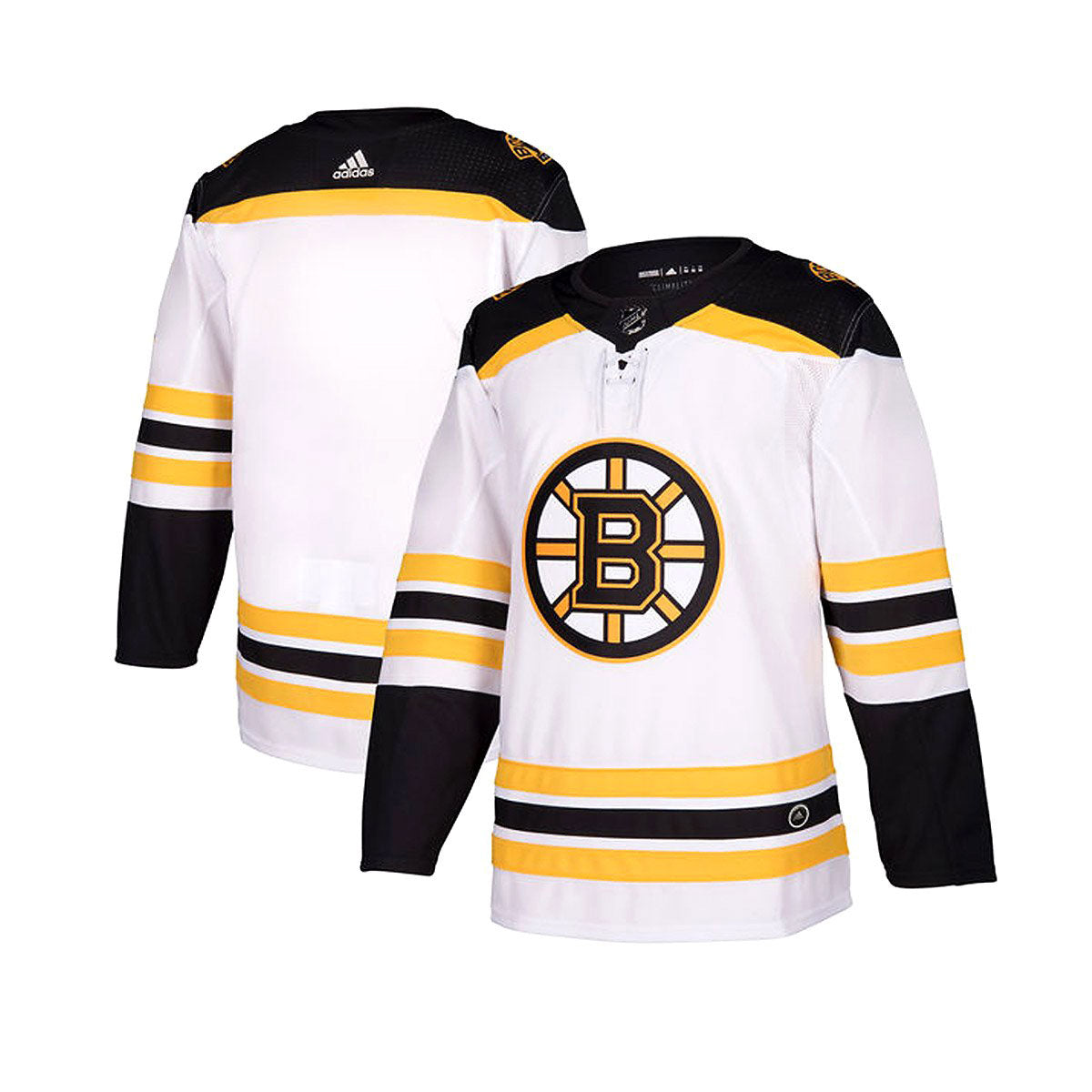 Boston Bruins Away Adidas Authentic Senior Jersey