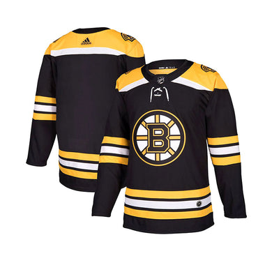 Boston Bruins Adidas Authentic Senior Home Jersey