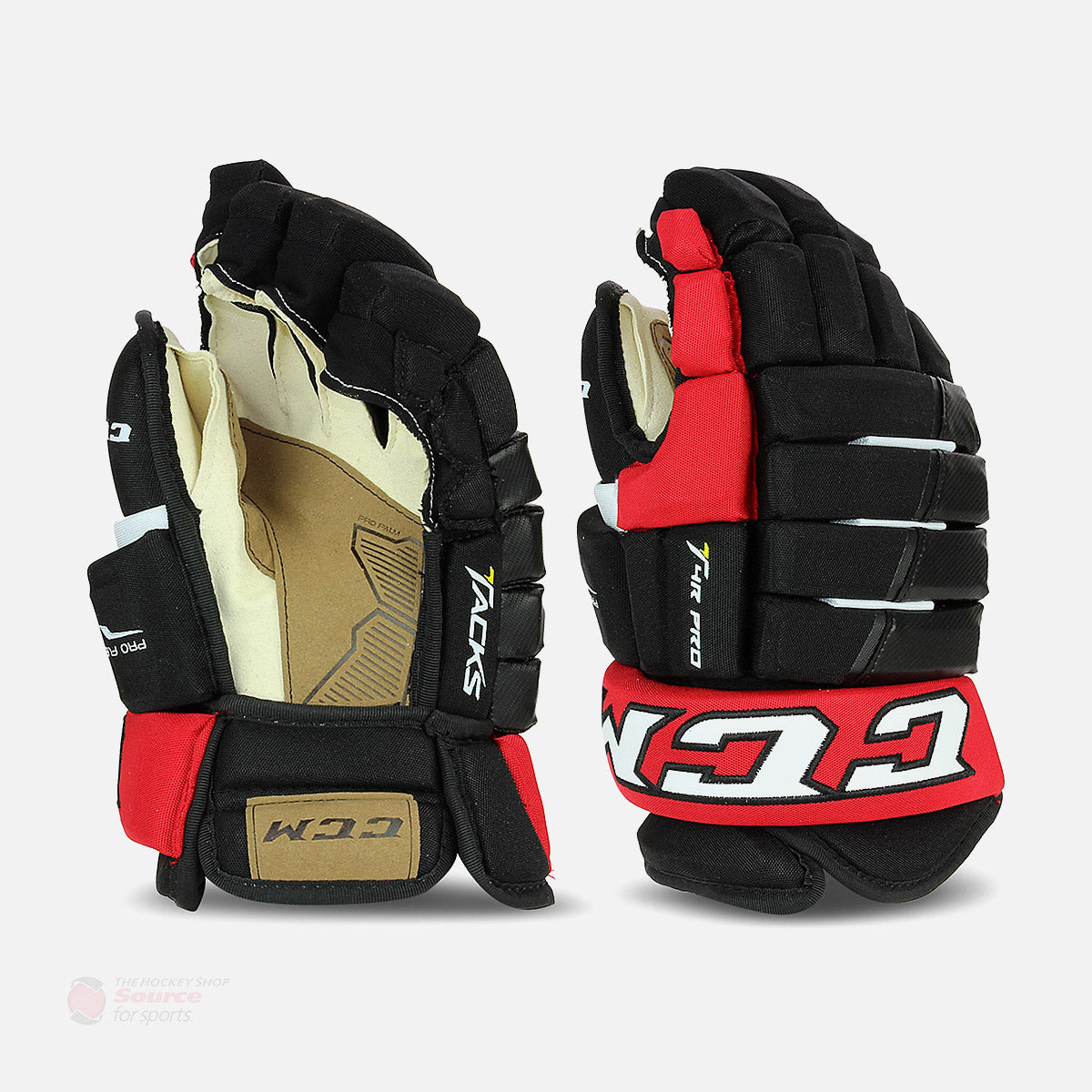 CCM Tacks 4R Pro Junior Hockey Gloves