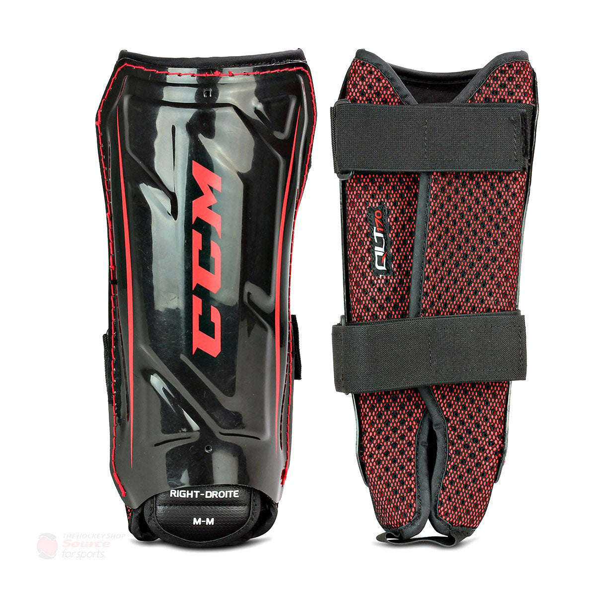 CCM QuickLite 170 Senior Ball Hockey Shin Guards