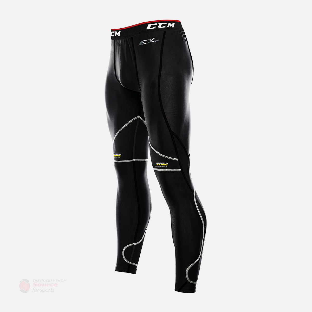 CCM Cut Resistant Senior Compression Goal Pants