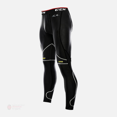 CCM Cut Resistant Senior Compression Goalie Pants