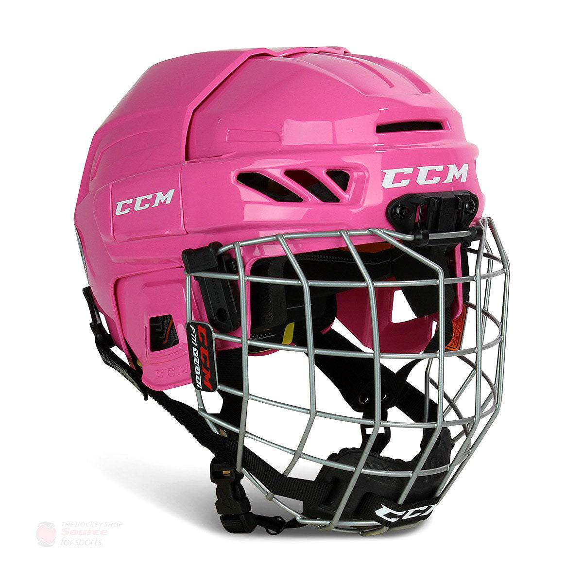 CCM FitLite Youth Hockey Helmet / Cage Combo