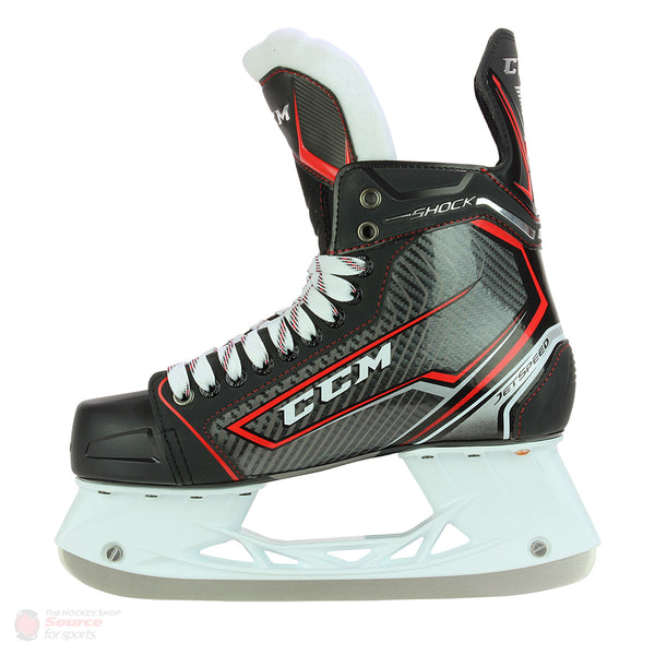 CCM Jetspeed Shock Junior Hockey Skates (2017)