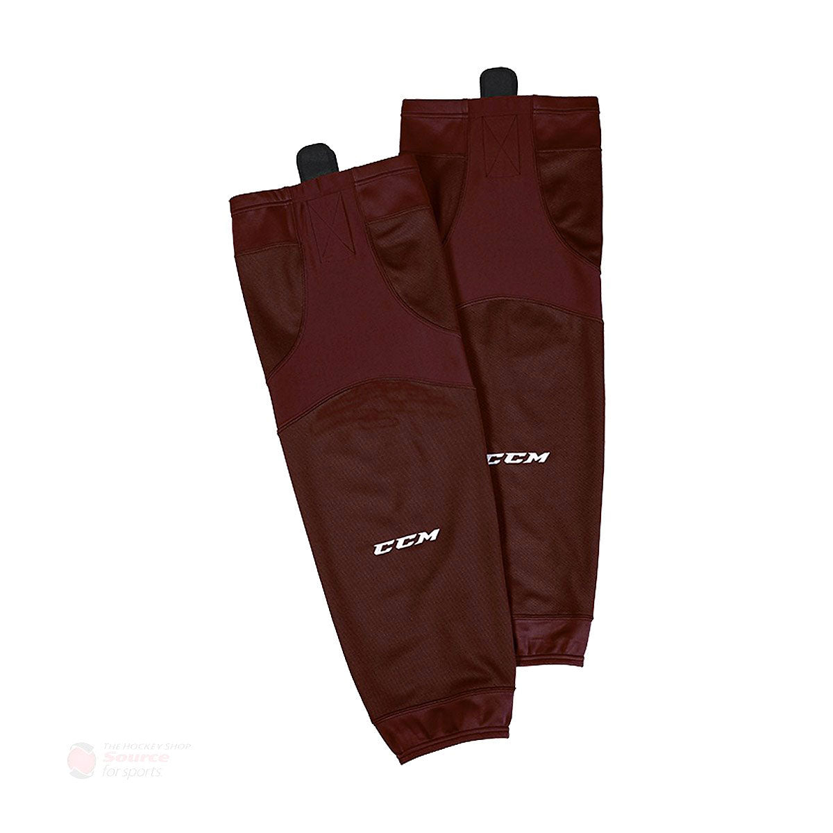 CCM Quicklite 6000 Maroon Hockey Socks