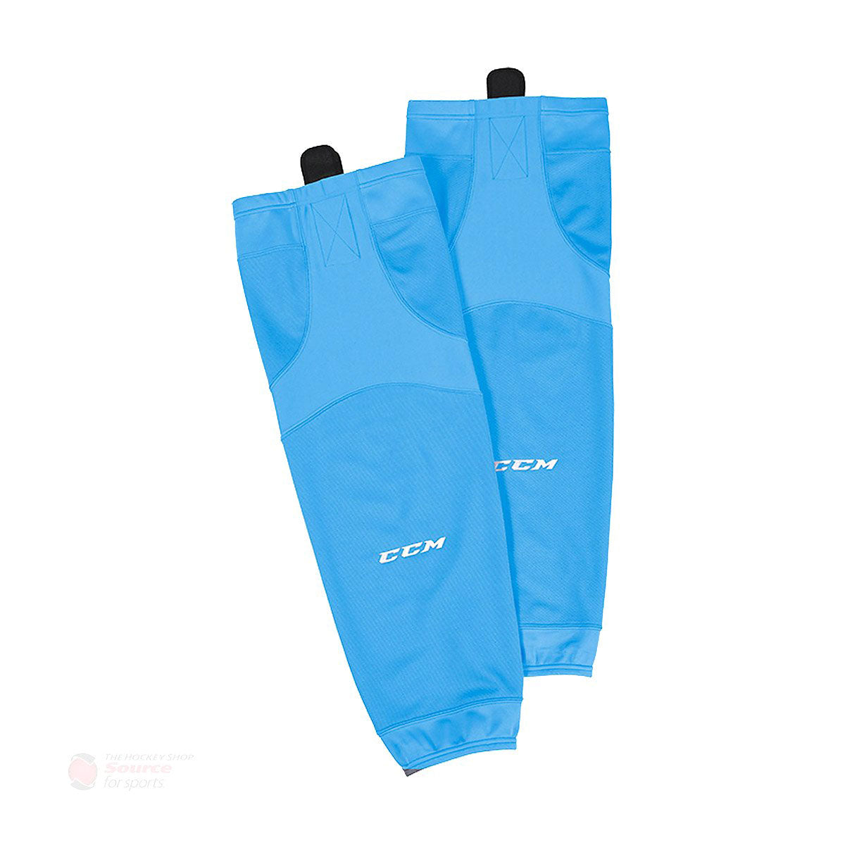 CCM Quicklite 6000 Sky Blue Hockey Socks