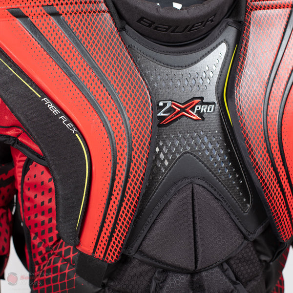 Bauer Vapor 2X Pro Senior Chest & Arm Protector - Red