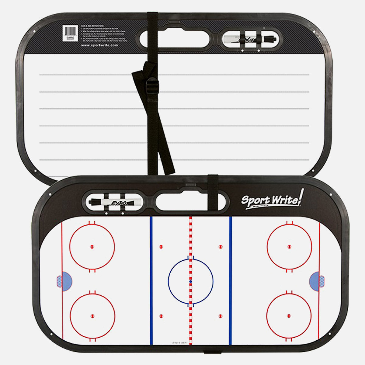 Sportwrite Coaching Whiteboard w/ Strap