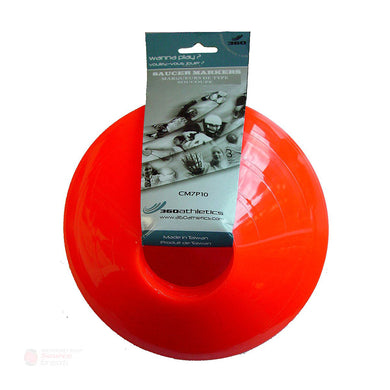 360 Athletics Saucer Cones - 10 Pack