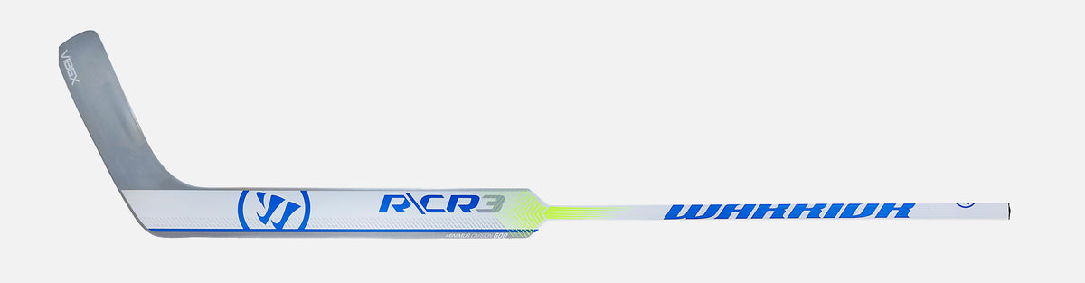 Warrior Ritual CR3 Senior Composite Goalie Stick - White / Blue