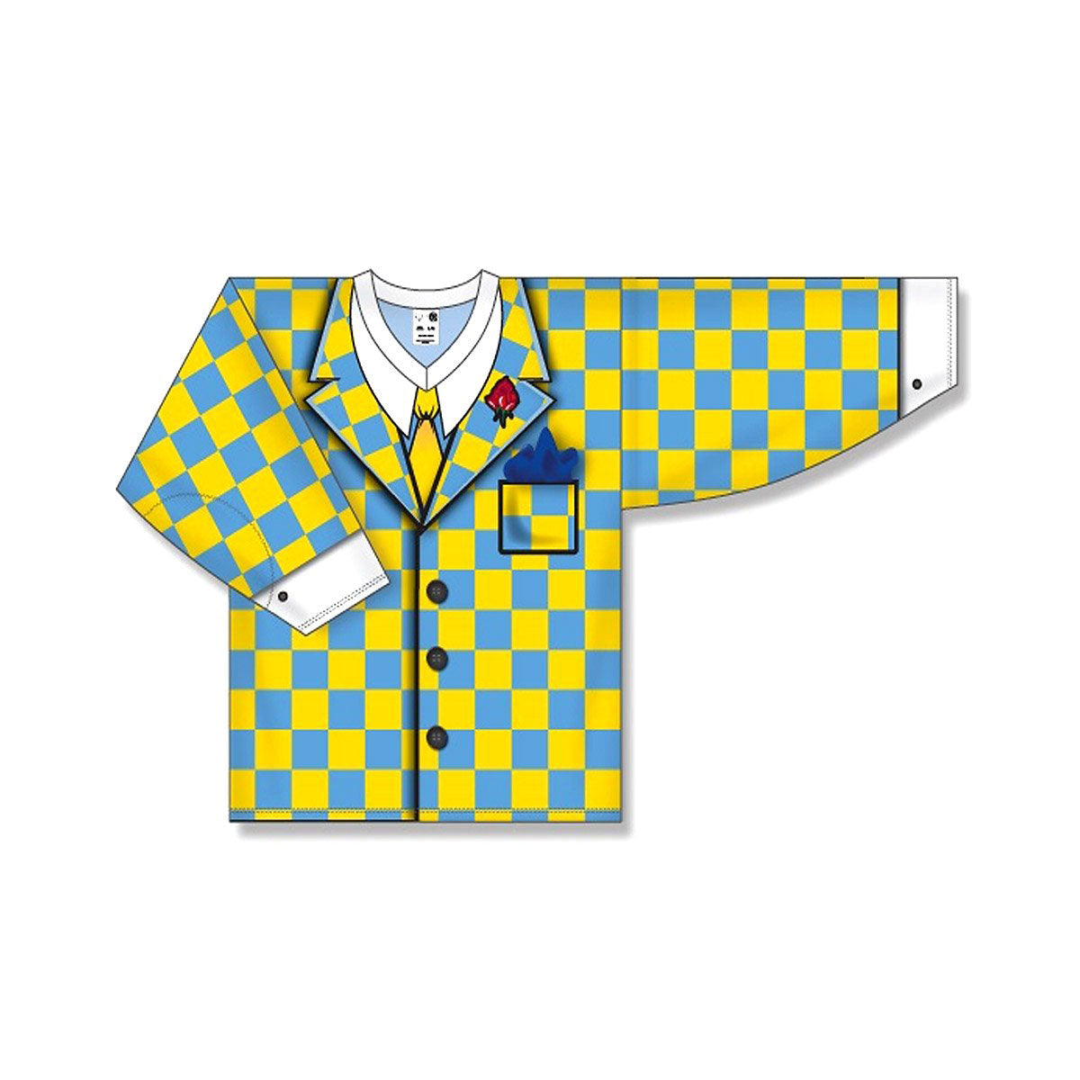 Athletic Knit Don Cherry Checkered Senior Goalie Practice Jersey
