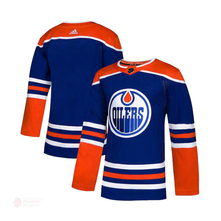 Edmonton Oilers Alternate Adidas Authentic Senior Jersey