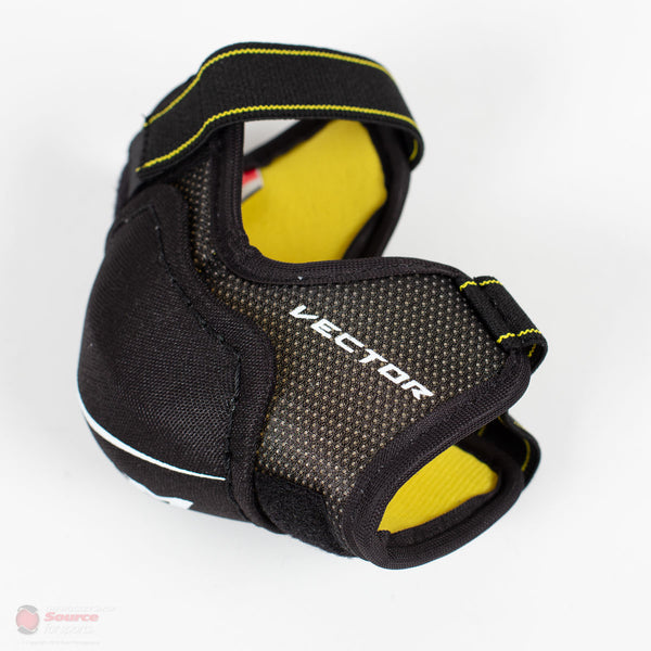 CCM Tacks Vector Youth Hockey Elbow Pads