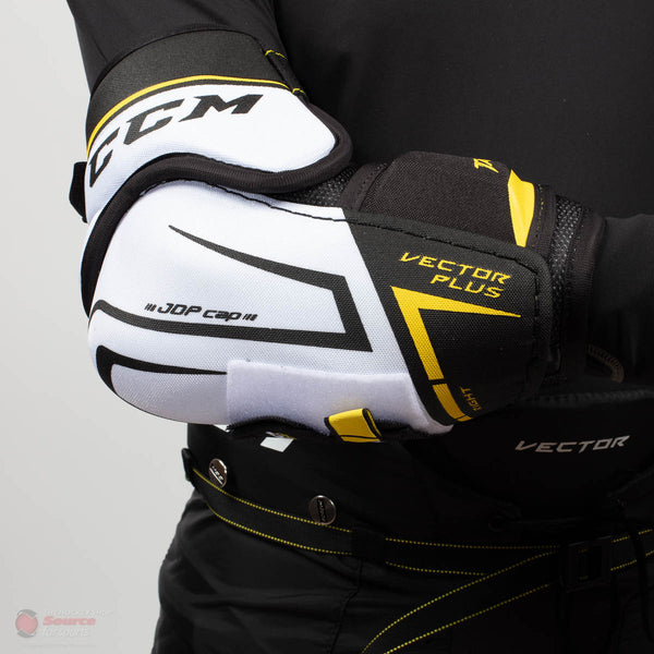 CCM Tacks Vector Plus Senior Hockey Elbow Pads