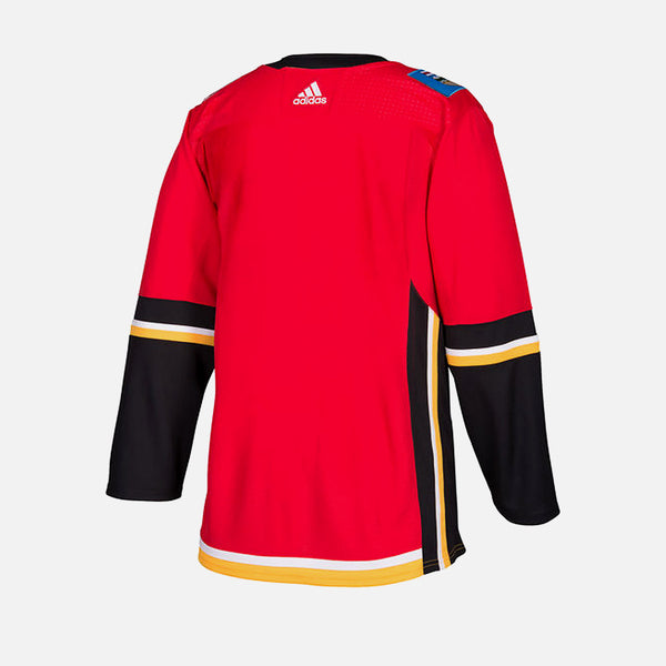 Calgary Flames Home Adidas Authentic Senior Jersey