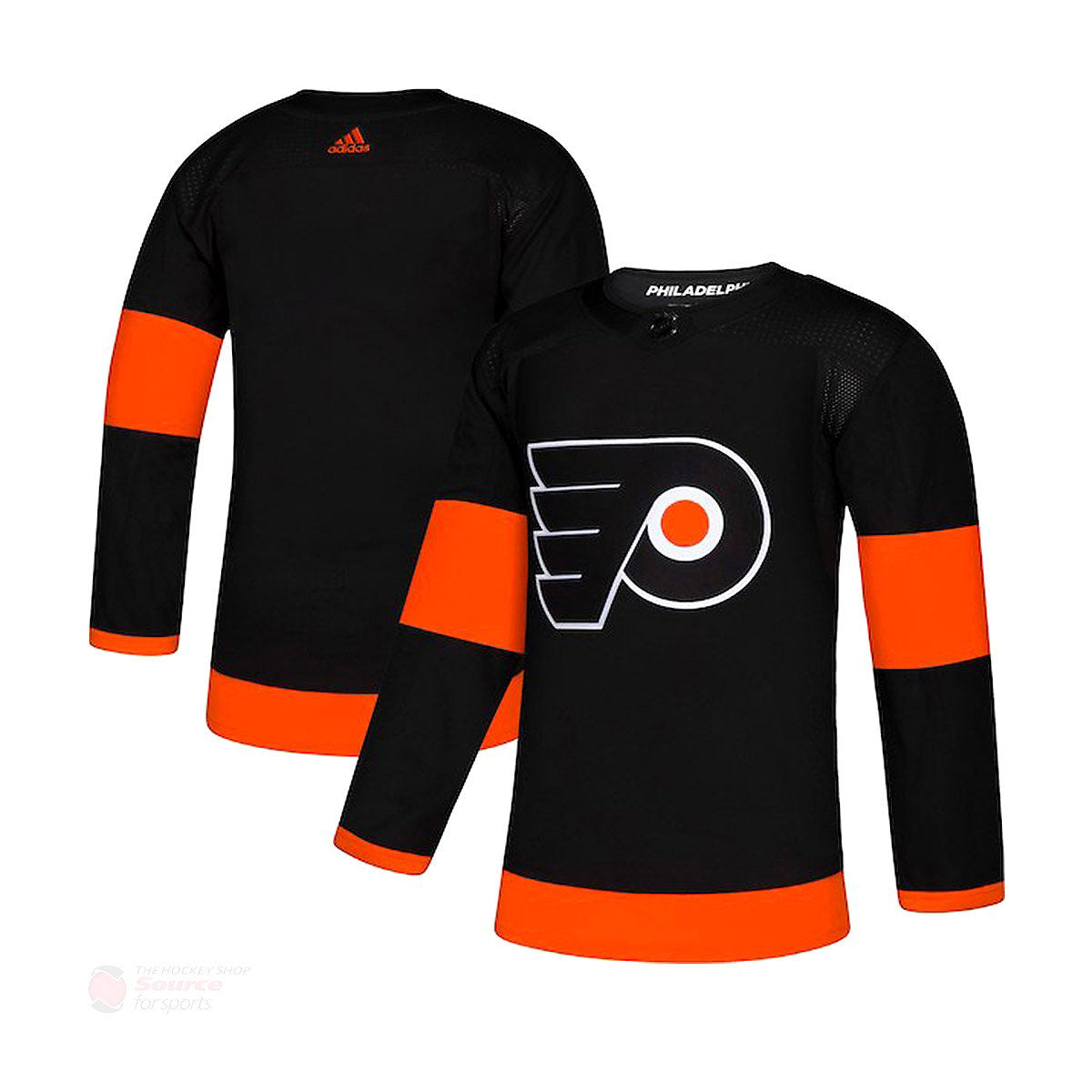 watch 39c99 f460f Philadelphia Flyers Adidas Authentic Senior Alternate Jersey