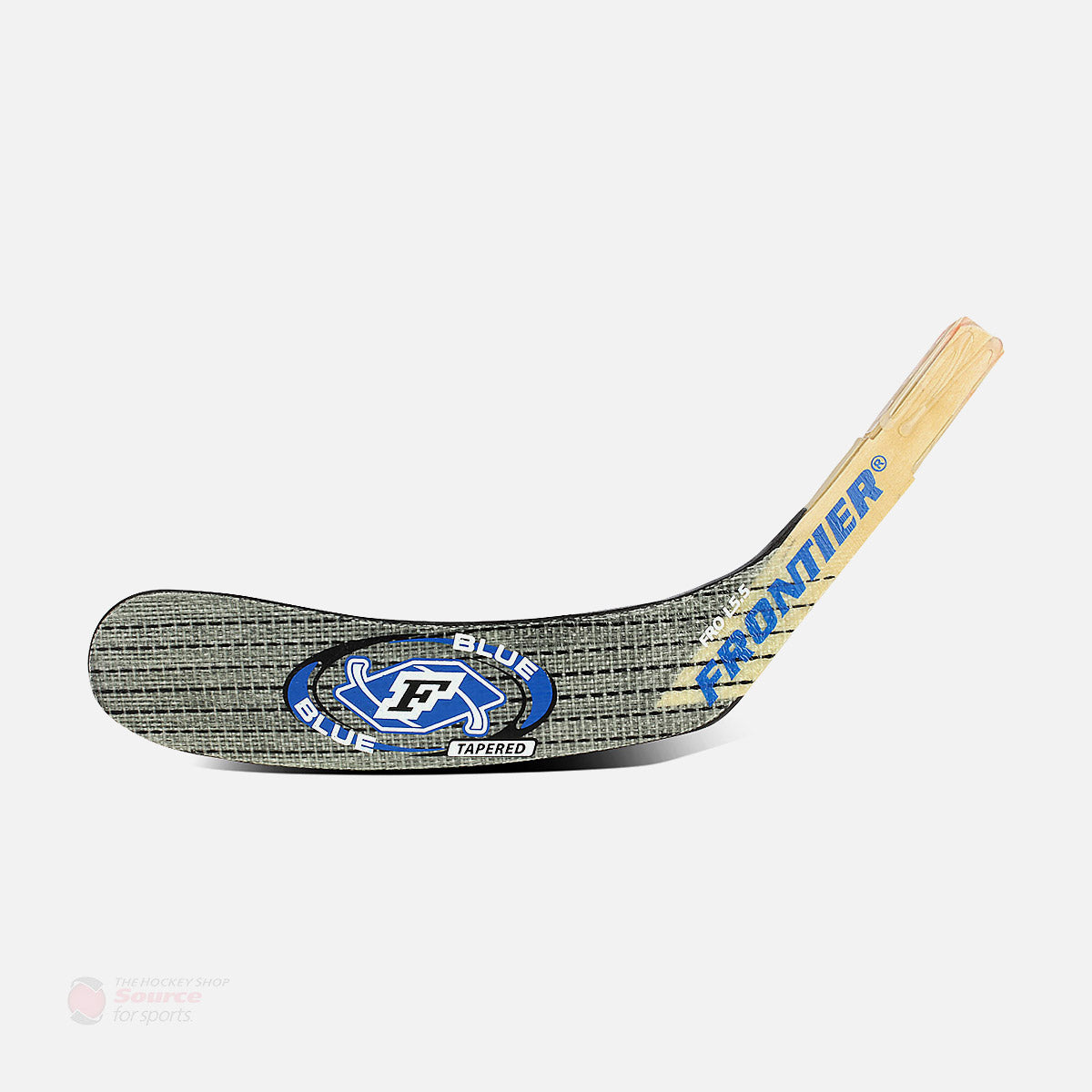 Frontier F-Blue ABS Tapered Senior Wood Hockey Blade