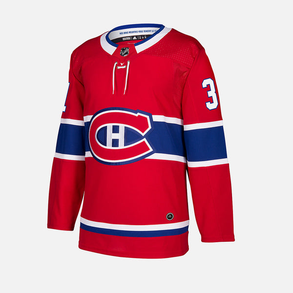 Montreal Canadiens Home Adidas Authentic Senior Jersey - Carey Price