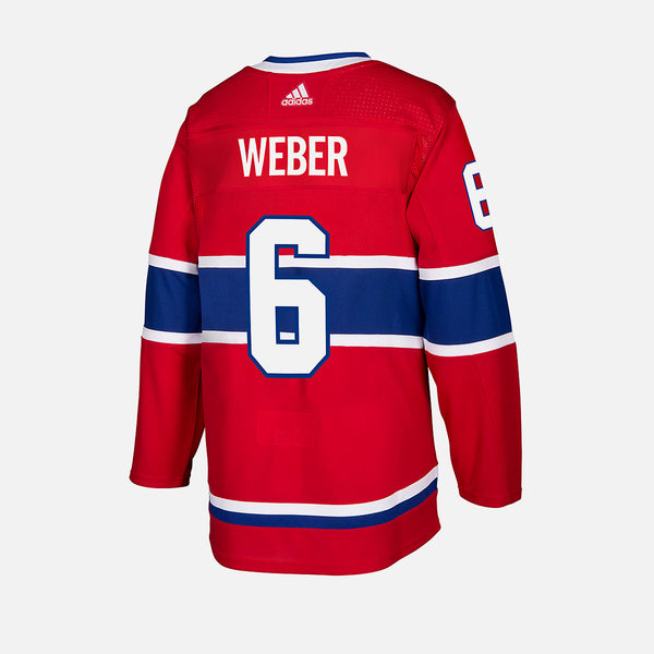 Montreal Canadiens Home Adidas Authentic Senior Jersey - Shea Weber