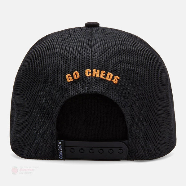 Gongshow Hockey Cheese Monster Snapback Hat
