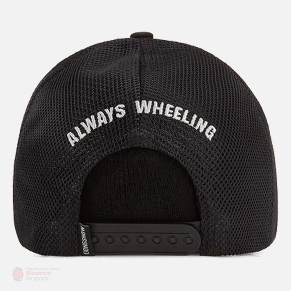 Gongshow Hockey Just Wheel Snapback Hat