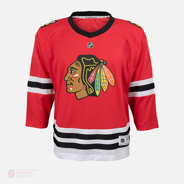 Chicago Blackhawks Home Outer Stuff Replica Toddler Jersey