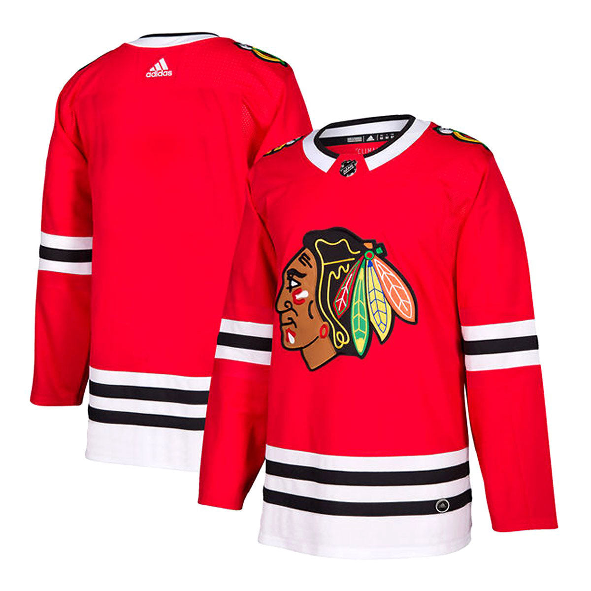 quality design 4d94a f5904 Chicago Blackhawks Adidas Authentic Senior Home Jersey