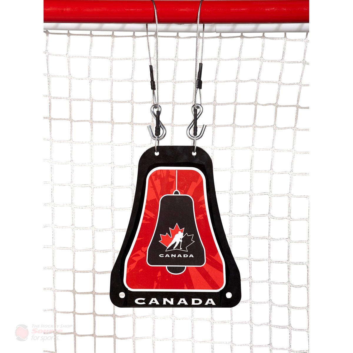 Hockey Canada Metal Bell Hockey Net Shooting Target