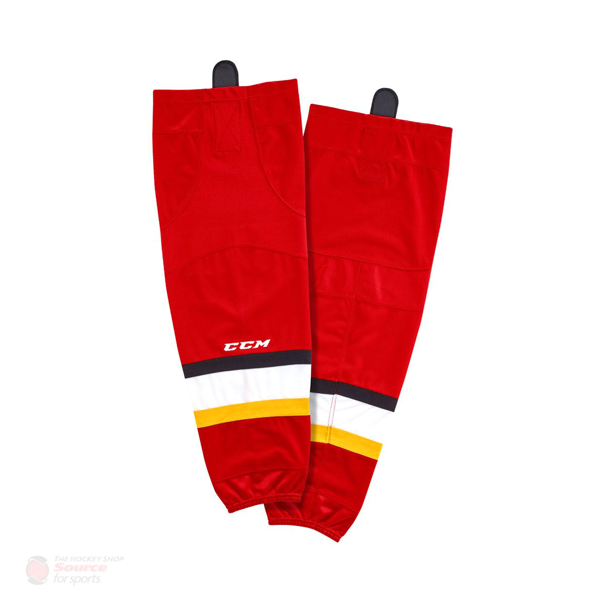 Calgary Flames CCM Quicklite 8000 Hockey Socks