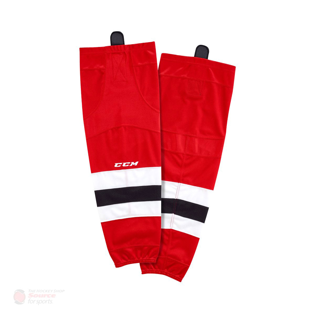 New Jersey Devils CCM Quicklite 8000 Hockey Socks