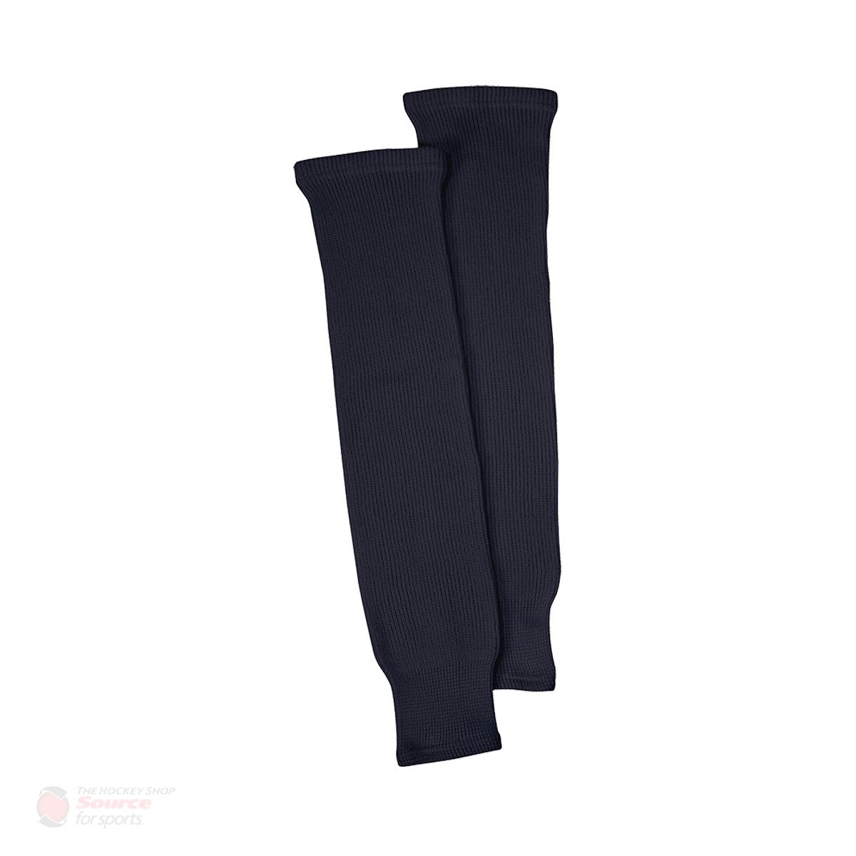 Black Knit Senior Hockey Socks