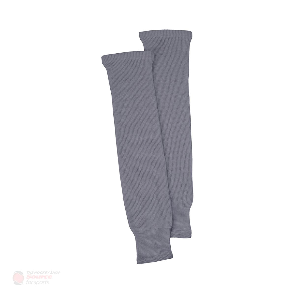 Grey Knit Senior Hockey Socks