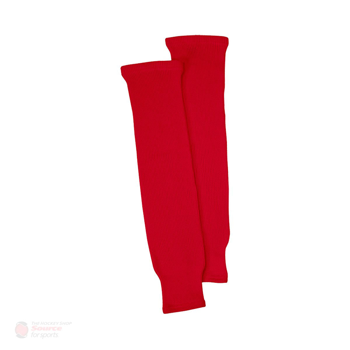 Red Knit Senior Hockey Socks